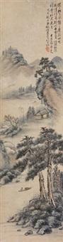 岩居图 by hu huan