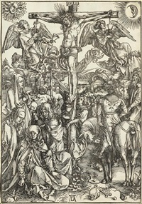 christus am kreuz, pl. 8 (from die grosse holzschnittpassion) by albrecht dürer