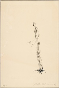 homme debout by alberto giacometti