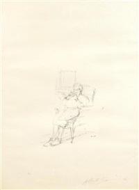 mère de l'artiste assise ii by alberto giacometti