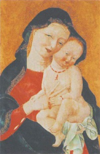 madonna mit kind by master of the madonna dagli occhi ammicanti