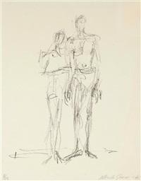 le couple by alberto giacometti