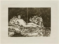 olympia (grande planche) by édouard manet