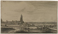 view of rhenen by johannes ruyscher