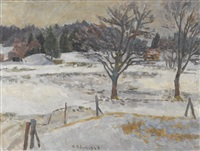 winterlandschaft by maurice robert