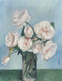 rosen auf blauem grund by ottilie w. roederstein