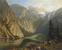 der obersee bei berchtesgaden by hellmuth raetzer