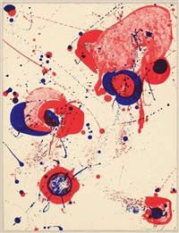 for st. gallen (from graphikmappe hochschule st. gallen) by sam francis