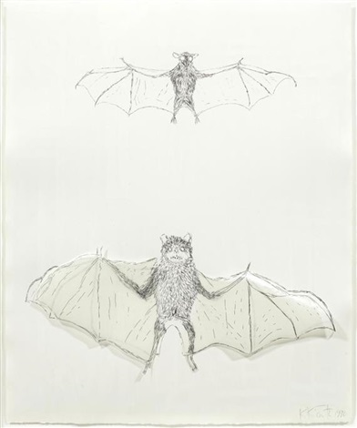 bats squirrel 2 works by kiki smith