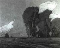 an approaching storm by josef eidenberger