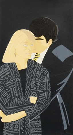 pas de deux portfolio of 5 by alex katz