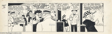 Chester goulds comic strip