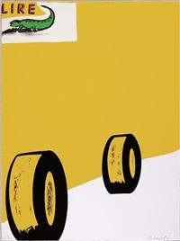 vene. lire (2 works) by enzo cucchi