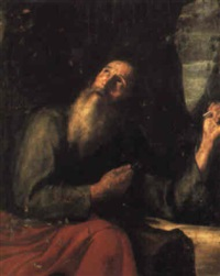 an evangelist? by antonio de pereda y saldago
