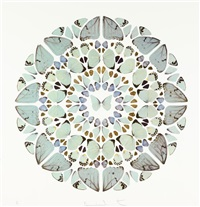exaudi domine (from psalm prints) by damien hirst