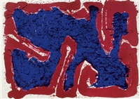 lover loved loved lover by sam francis