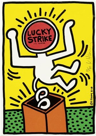 lucky strike pl 3 by keith haring