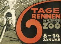 6 tagerennen ausstellungshallen am zoo by robert leonard
