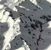 schweizer alpen ii (portfolio von 5) by gerhard richter