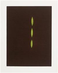 green poplars by yozo hamaguchi