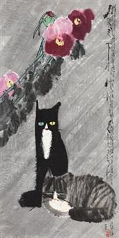 双猫 by jia pingxi
