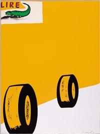 viene. lire (2 works) by enzo cucchi