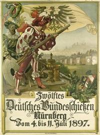 zwölftes deutsches bundesschießen nürnberg by paul ritter