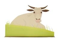 cow (large) by alex katz