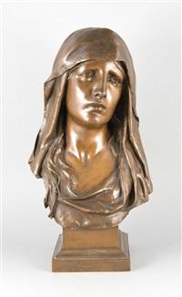 büste der maria by eugène marioton