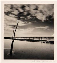 oyster beds, study 2, chausey islands, france by michael kenna