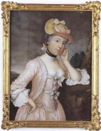 porträt der maria imhof-gruner by leodegar meyer