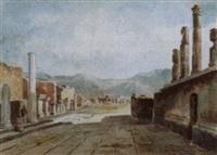 le forum à pompei by alberto vianelli