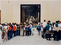 museo del prado. room 12. madrid (from making time) by thomas struth