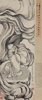 罗汉图 (arhat) by ding yunpeng