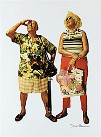 tourists by duane hanson
