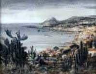 madeira, blick auf die küste by josef steib