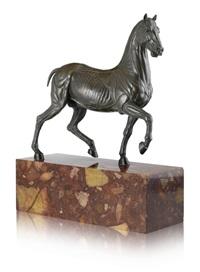 das pferd ohne haut, il cavallino scorticato, le cheval écorché (or after luigi valadier) by giuseppe valadier