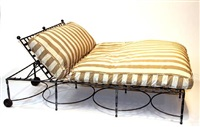 a double chaise lounge by thomas bartlett