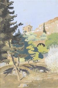 die akropolis von athen by roger tourte
