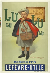 lu biscuits lefèvre-utile by firmin bouisset