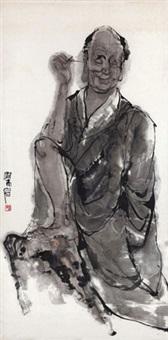 罗汉图 by liang yan