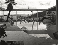 loewy residence, palm springs, designed by albert frey by julius shulman