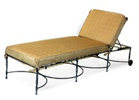 adjustable lounge chairs (pair) by thomas bartlett