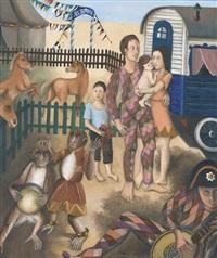 zirkus-familie by cuno roethlisberger