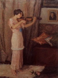 letzte rose by hedwig wollner-beuk