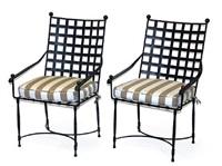 garden armchairs (set of 3) by thomas bartlett
