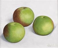 stillleben mit äpfeln by jean-claude stehli