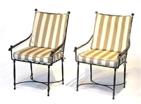 garden armchairs (set of 4) by thomas bartlett