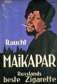 raucht maikapar rußlands beste zigarette by hans lindenstaedt