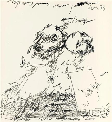 porträt zweier männer by dmitry borisovitch lion